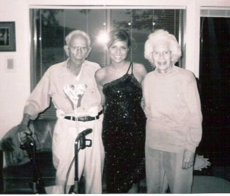 With Grandma and Papa 2003