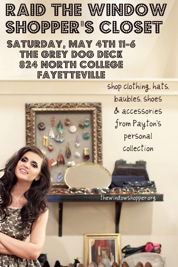 grey dog window shop