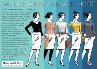 The #NAMPENCIL c/o NA Martin