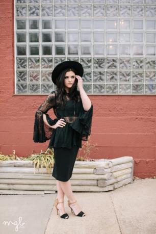 the black NAM Pencil Skirt | by MGB Photo