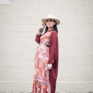 Wear this kimono with e-v-e-r-y-t-h-i-n-g