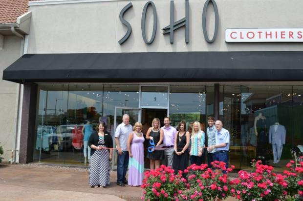 SOHO Reopened with a ribbon cutting on April 20th, 2013