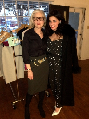 with the lovely Nancy Martin, designer of the NA Martin Pencil Skirt