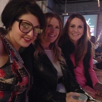 with the lovely Leslie & Kasie of 3W