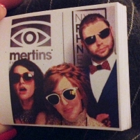 Mertin's flipbook with Mal & Ro