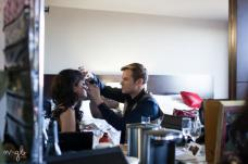 getting glam with Kory Tyler Smith